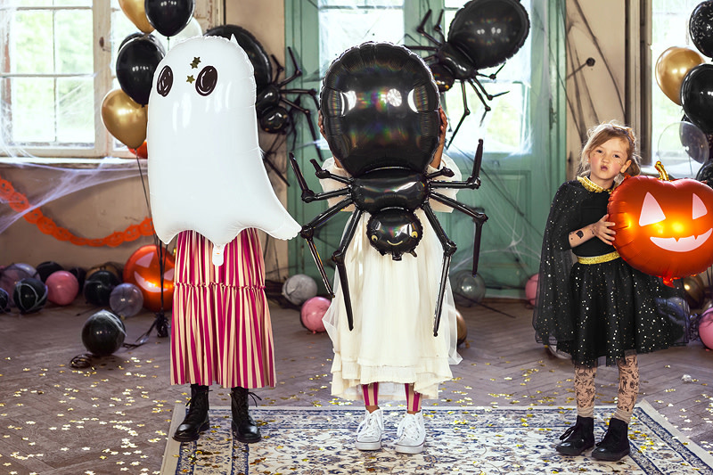 PD Foil balloon Ghost, 48x68cm