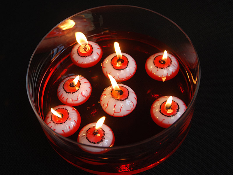 PD Floating candle Eye, 4cm