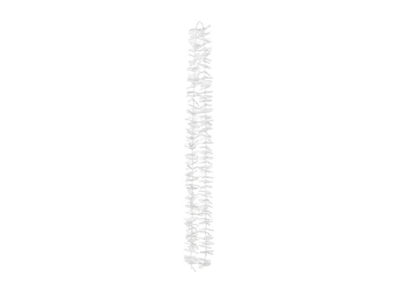 PD Backdrop - Flowers, white, 180cm