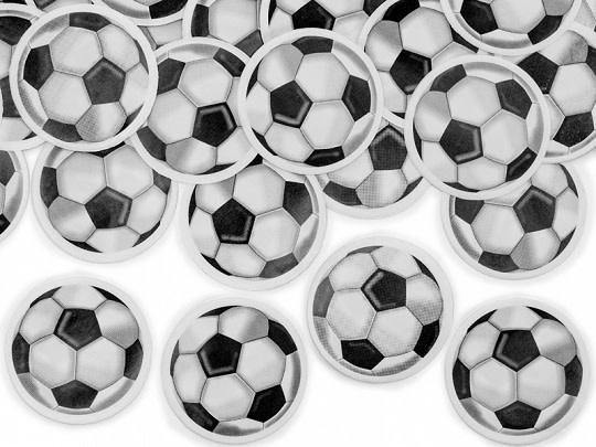 PD Confetti cannon with footballs , mix, 40cm
