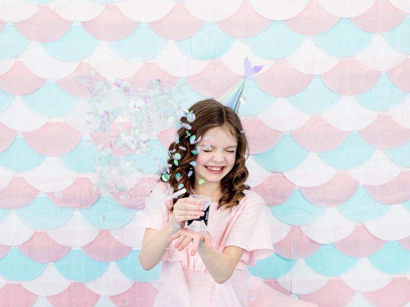 PD Confetti push pop, iridescent