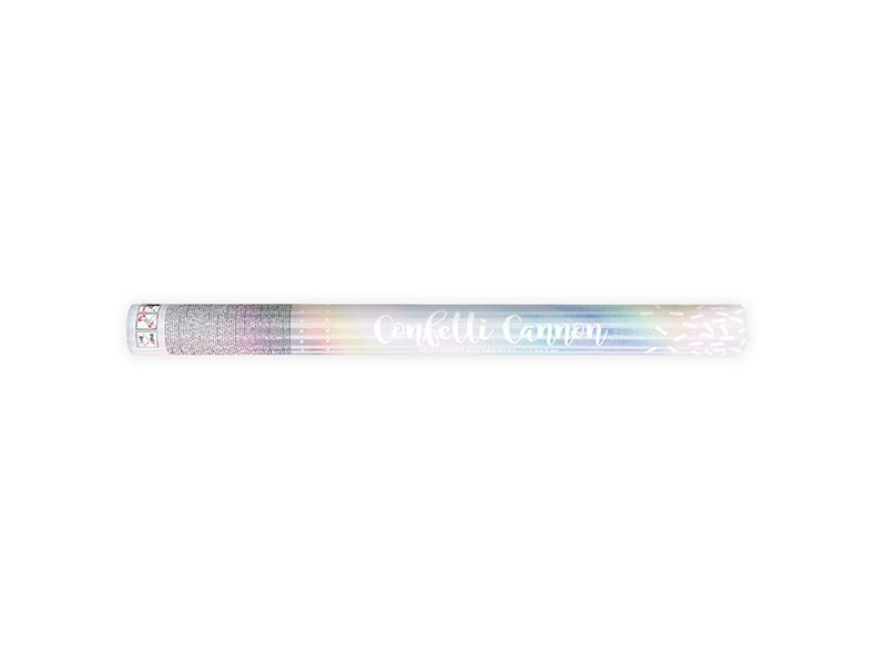 PD Confetti cannon, iridescent, 60cm
