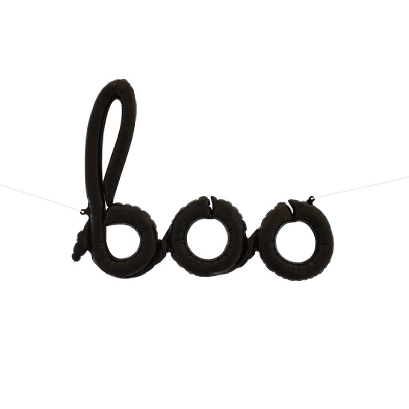 SMP boo script foil balloon 106 cm