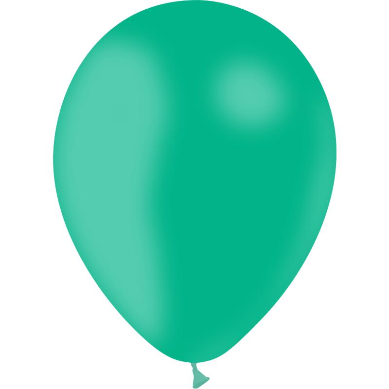 SMP 25 x latex balloons mint 12,5 cm 100 % biodegradable