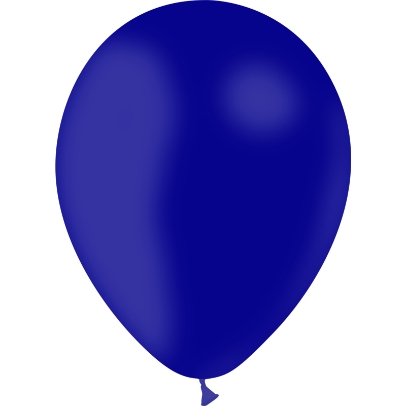 SMP 25 x latex balloons navy blue 12,5 cm 100 % biodegradable