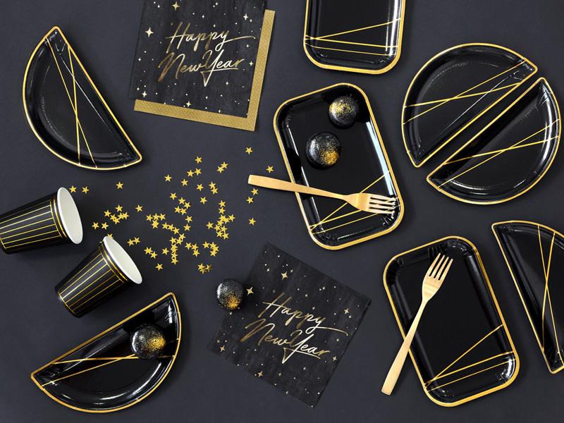 PD Confetti Stars, gold, 10mm, 30g