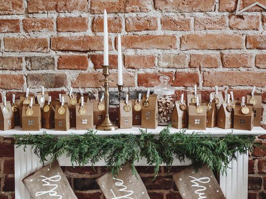PD Advent calendar Houses, mix