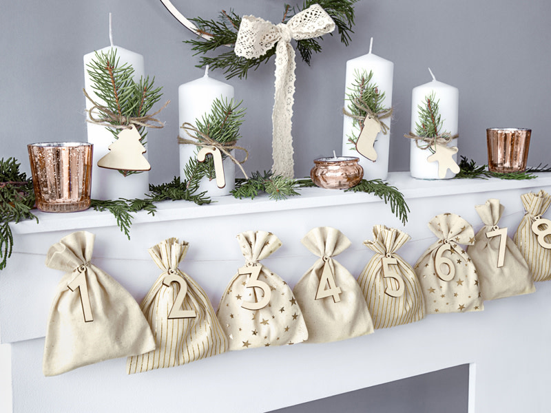 PD Advent calendar Bags, mix