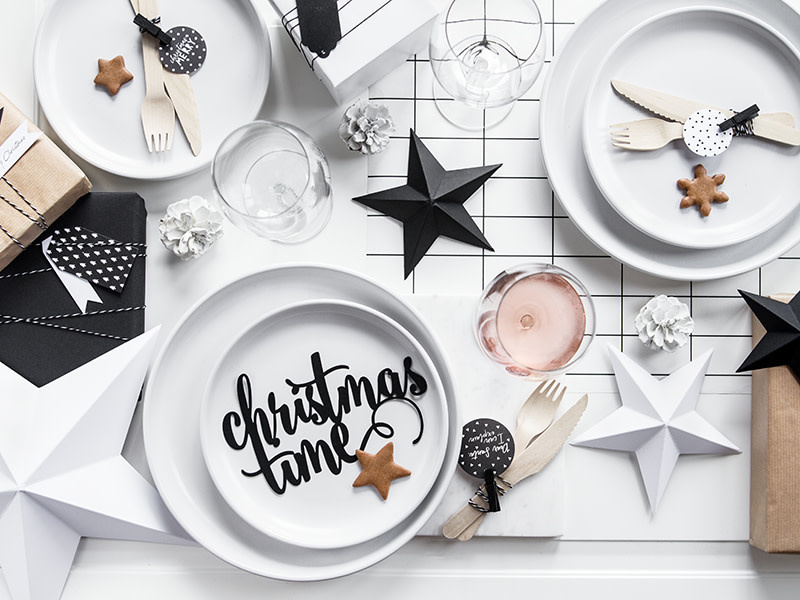 PD Decoration Christmas Time, black