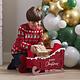 GINGERRAY Christmas Present Sleigh Alternative Stocking