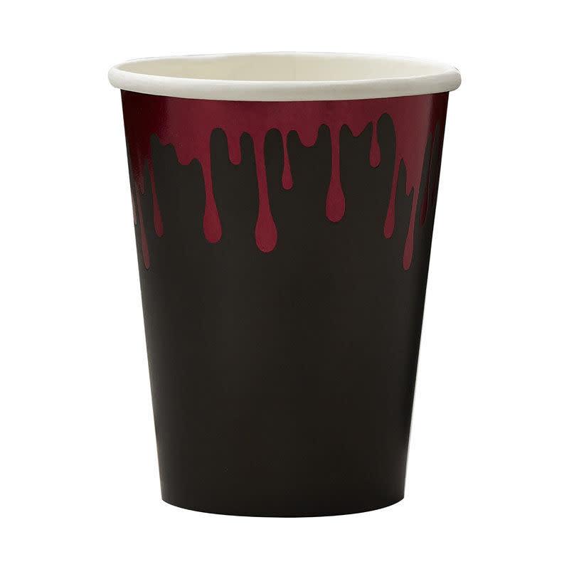GINGERRAY Blood Drip Paper Halloween Cups