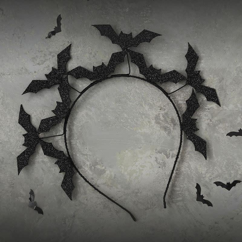 GINGERRAY Black Bat Halloween Headband