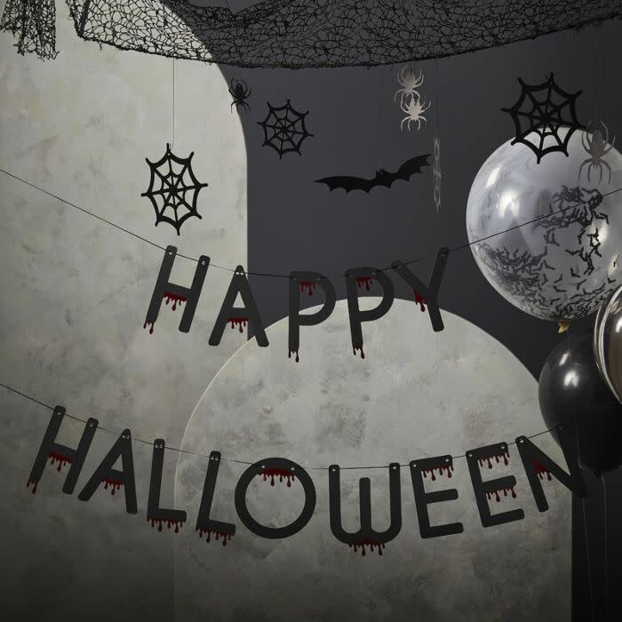 GINGERRAY Blood Drip Happy Halloween Bunting