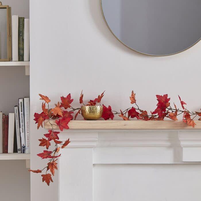 GINGERRAY Autumn Foliage Garland