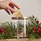GINGERRAY Festive Memory Jar with Gold Tree Notelets