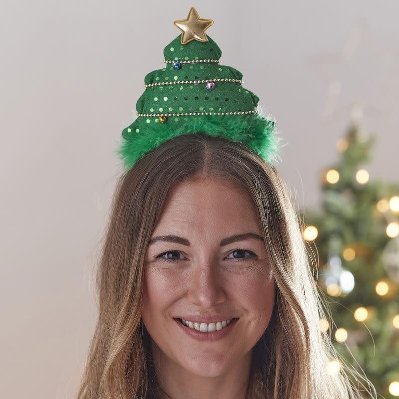 GINGERRAY Christmas Tree Christmas Headband