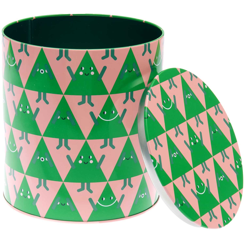 Rico NAY Cookie jar Christmas trees, 1 pc, Ø 136 x 151 mm