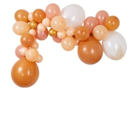 AF balloon arch kit blush, nude 46 balloons