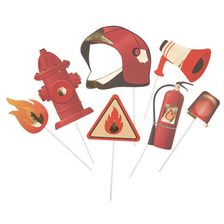 AF fireman photoboot kit 7 x