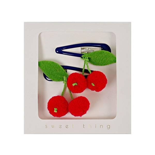 MERIMERI Cherries Hair Clips