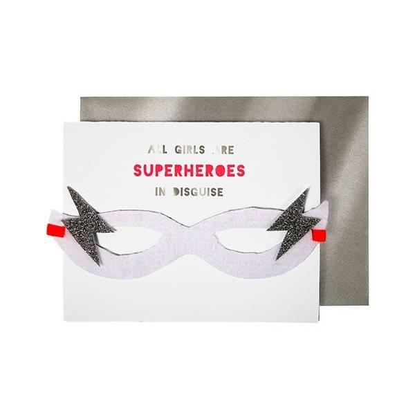 MERIMERI Girl superhero card