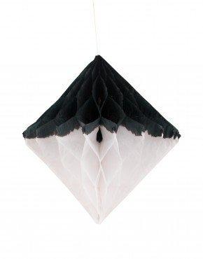MY LITTLE DAY honeycomb diamond white black