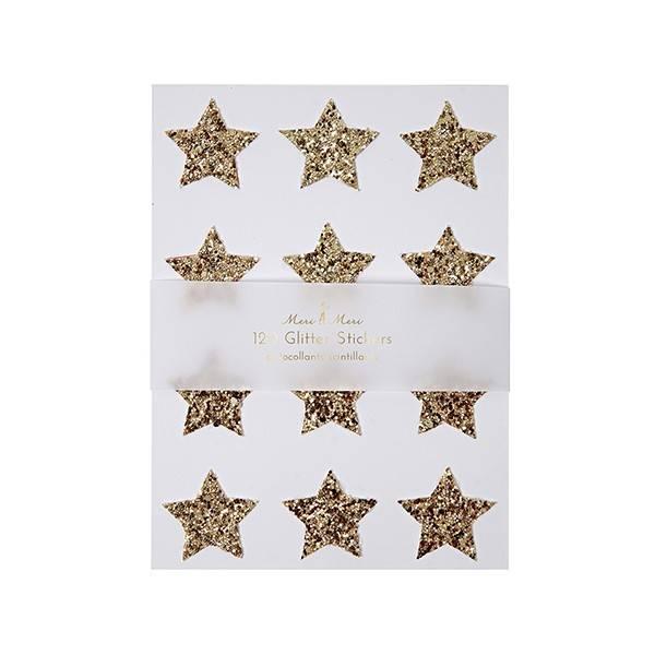 MERIMERI Gold star stickers