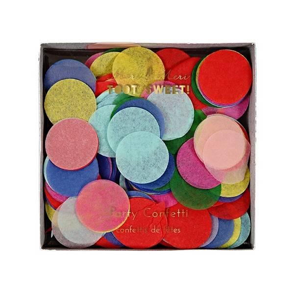 MERIMERI Multicolour confetti