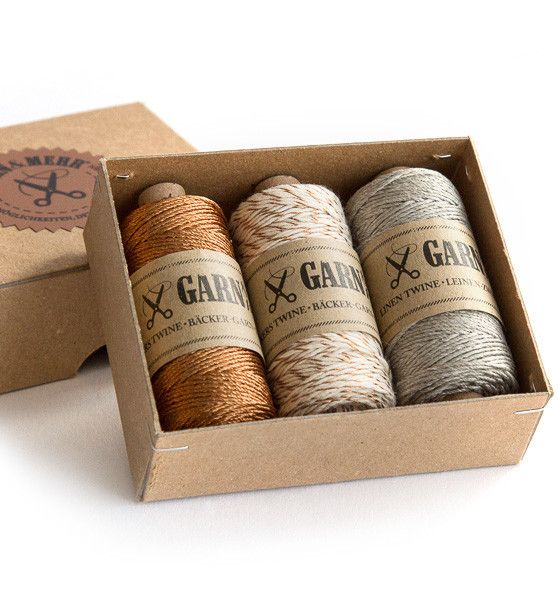Garn & Mehr bakers twine copper