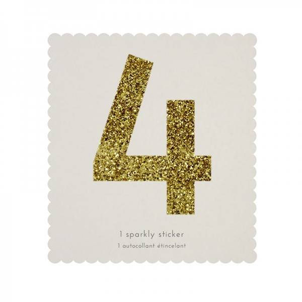 MERIMERI Glitter alphabet stickers 4