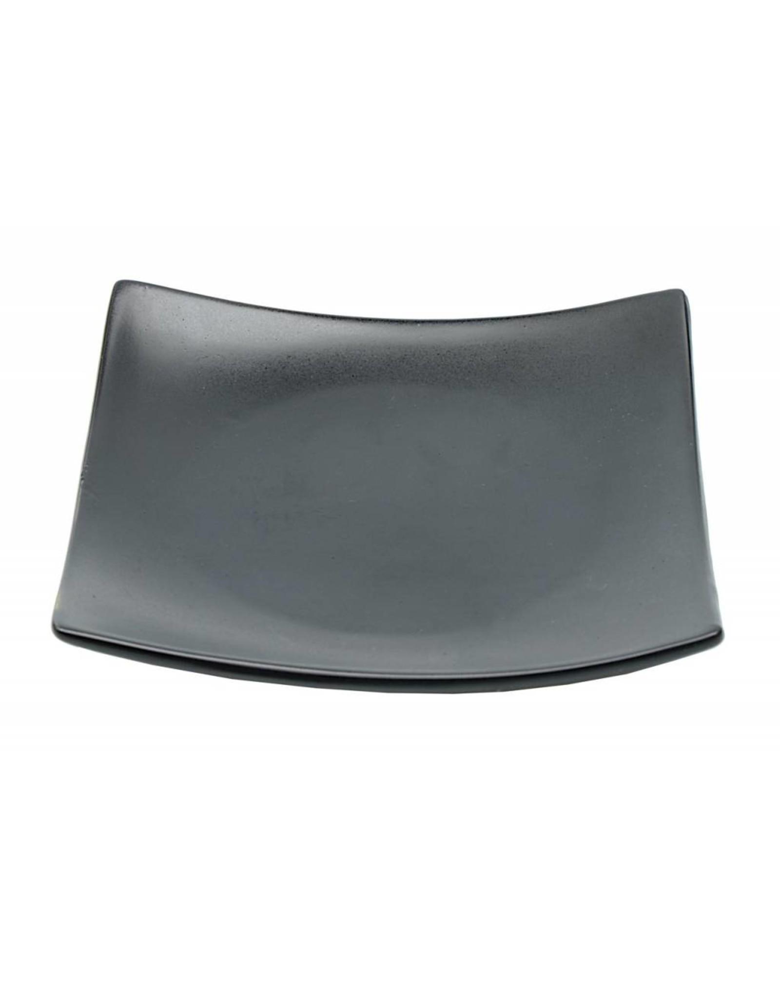 Tokyo Design Studio Black Series bord 16.5x16.5cm mat zwart