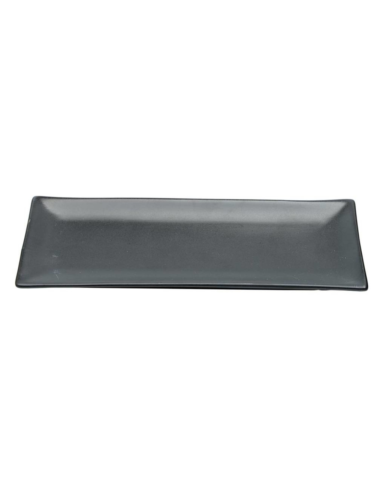 Tokyo Design Studio Black Series bord 26x11cm mat zwart