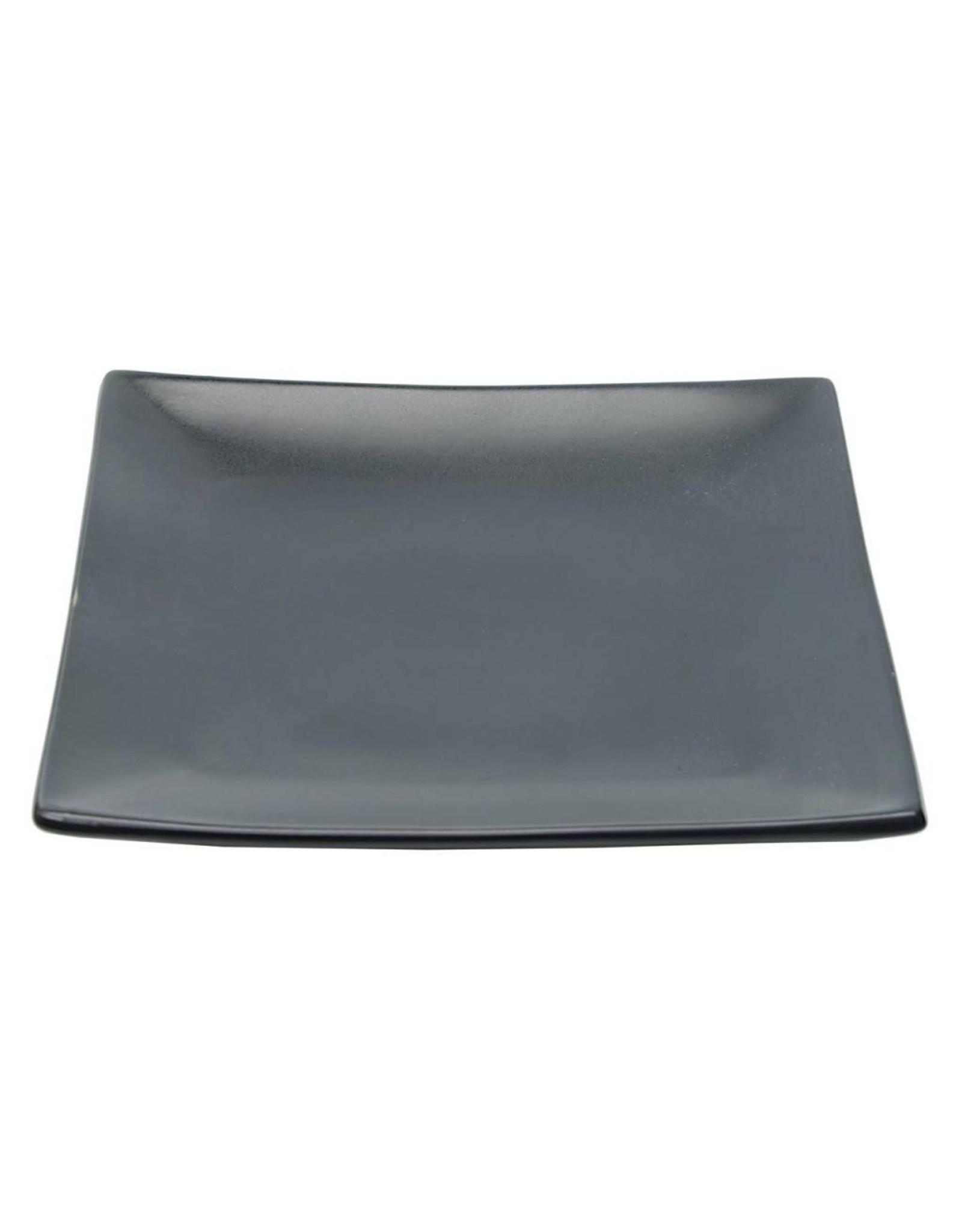Tokyo Design Studio Black Series bord 20.5x20.5cm mat zwart