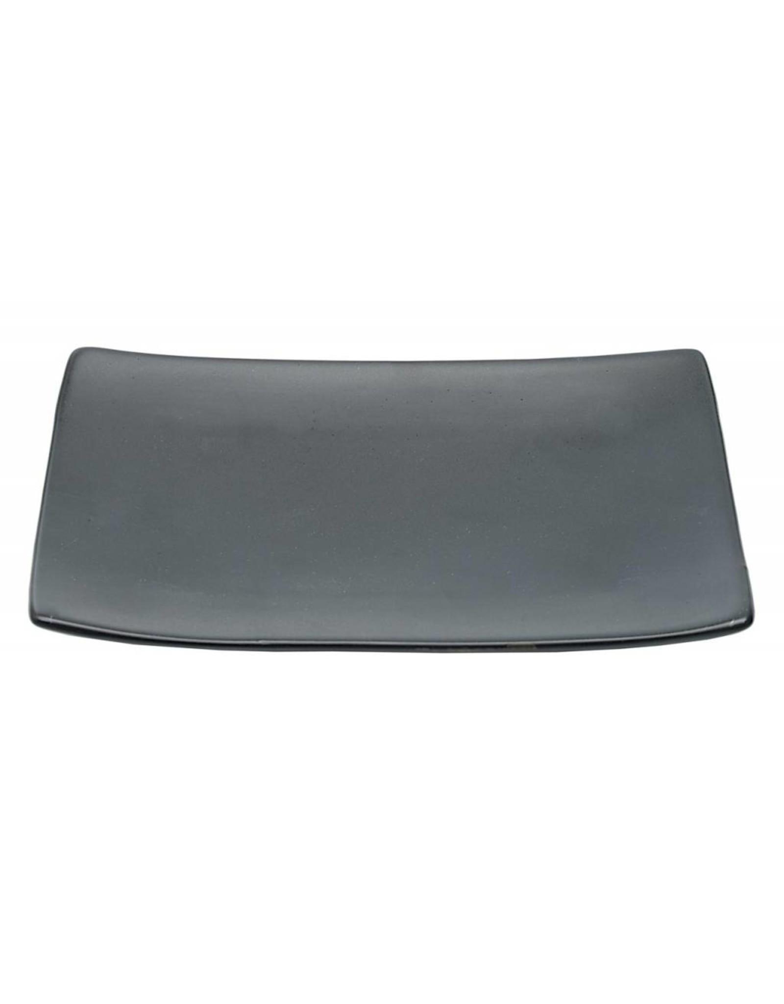 Tokyo Design Studio Black Series bord 20.5x13cm mat zwart