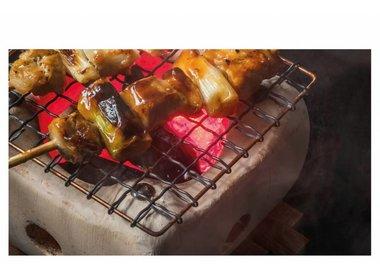 Konro grill & Binchotan charcoal