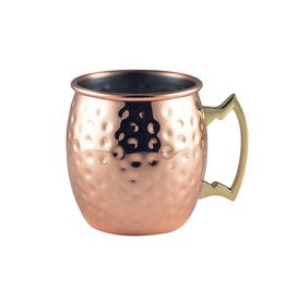 Stylepoint Copper mug hammered 400 ml