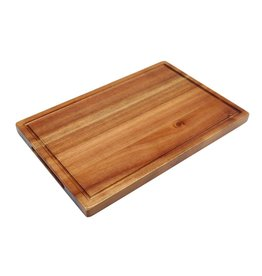 Stylepoint Acacia plank rechthoekig met inkeping 34 x 22 x 2 cm
