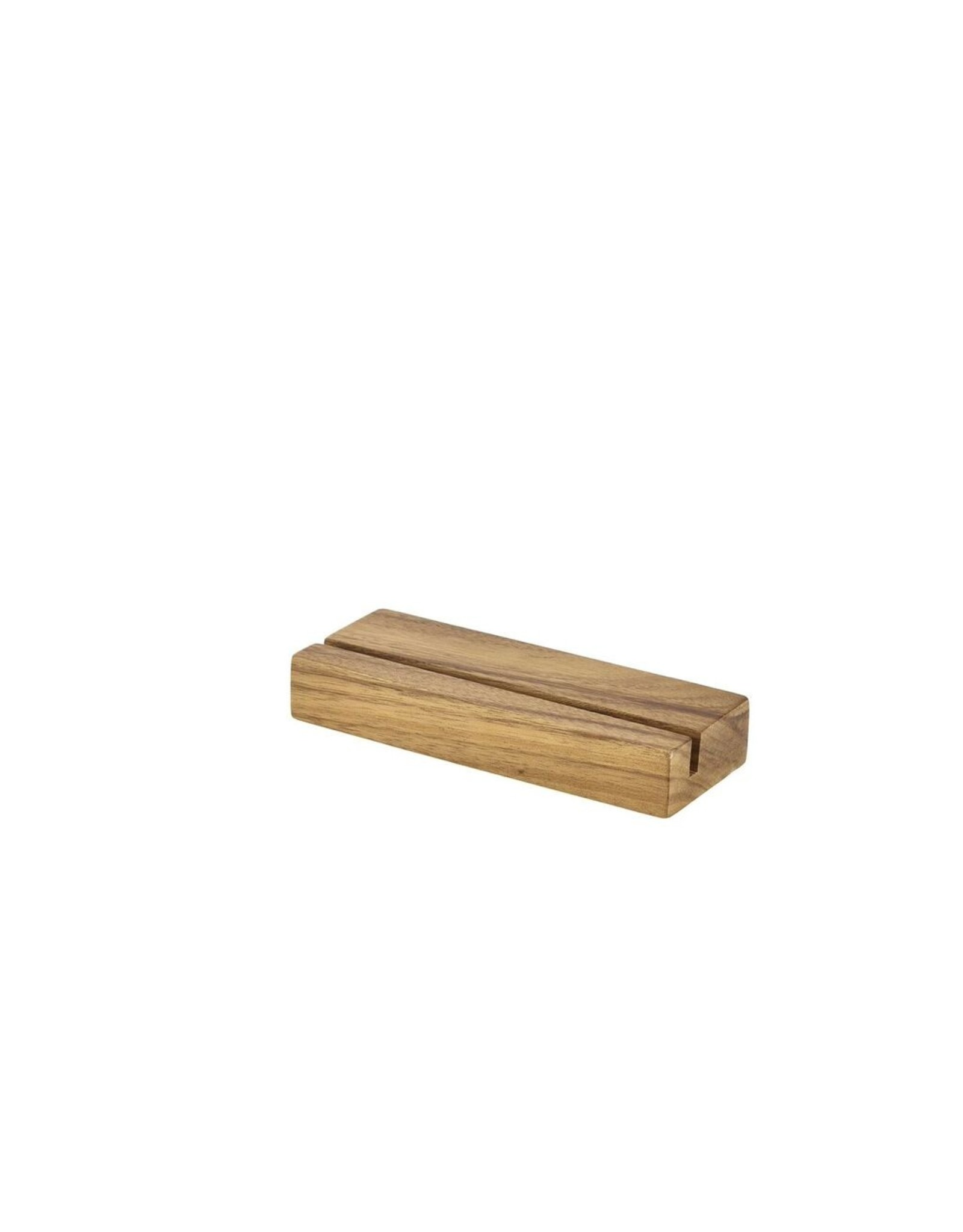 Stylepoint Acacia hout menu houder 20x3.2x7.5