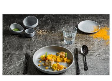 Tinto Lichtgrijs met 5 jaar chip garantie op de ronde borden