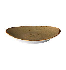Stylepoint Ovaal bord reactive sand 30 x 25,5 cm