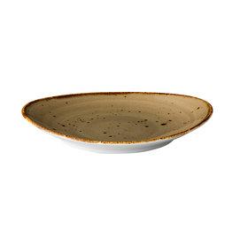 Stylepoint Ovaal bord reactive sand 21,5 x 19 cm