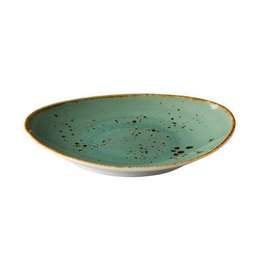 Stylepoint Oval plate reactive blue 21,5 x 19 cm