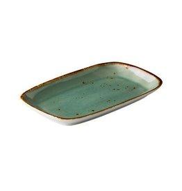 Stylepoint Rechthoekig bord reactive blue 24,7 x 15,4 cm