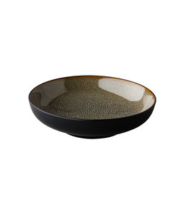 Stylepoint Diep bord Speckle grijs 22 cm