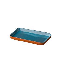Stylepoint Stoneheart snack tapas bord 19 x 11,2 cm blauw