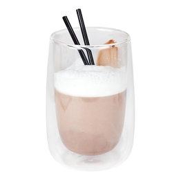 Stylepoint Koffie-/theeglas zonder handvat dubbelw. 400 ml