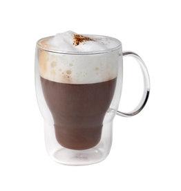 Stylepoint Koffie-theeglas dubbelwandig 400 ml