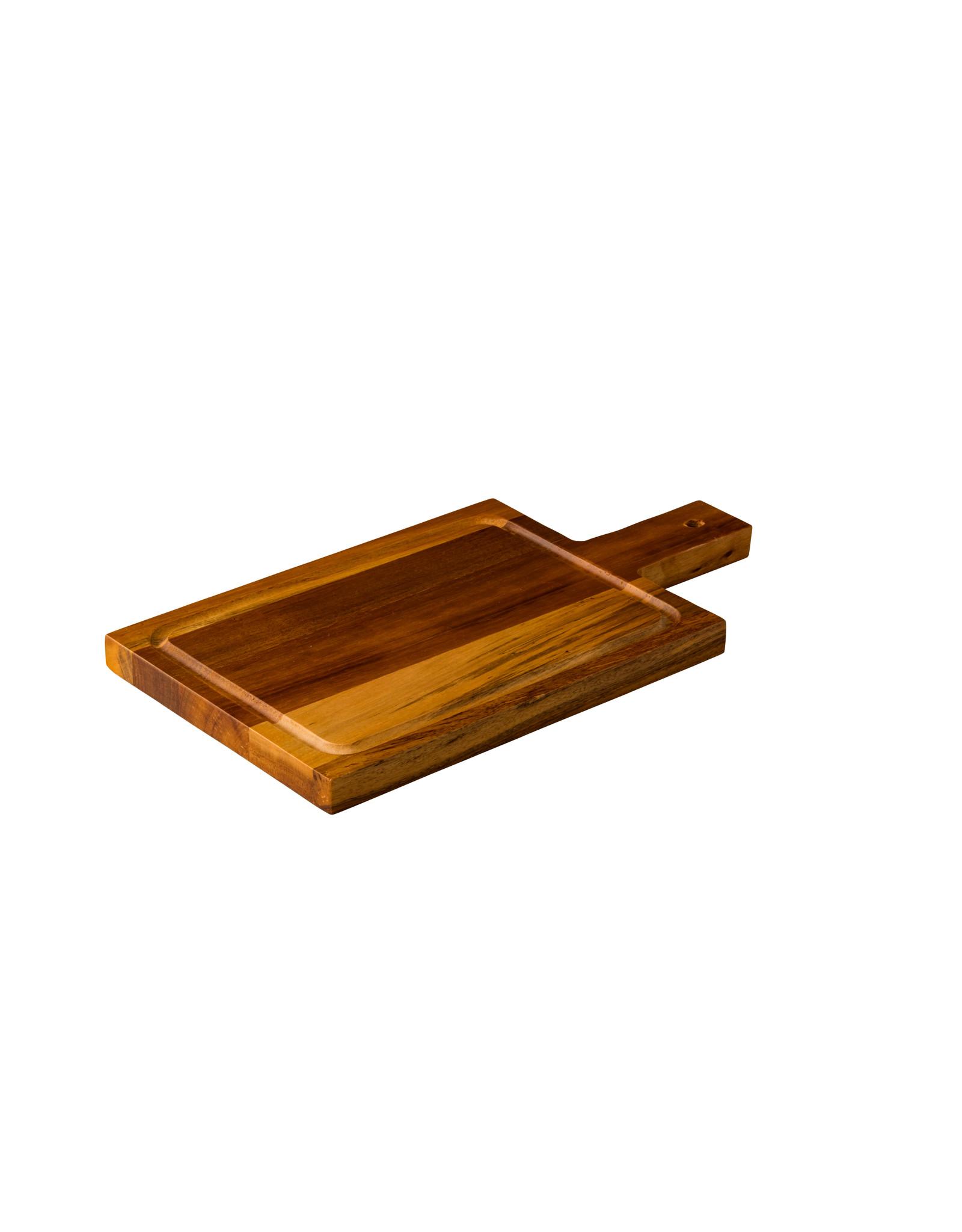 Stylepoint Acacia plank met handvat klein 35 x 18 cm