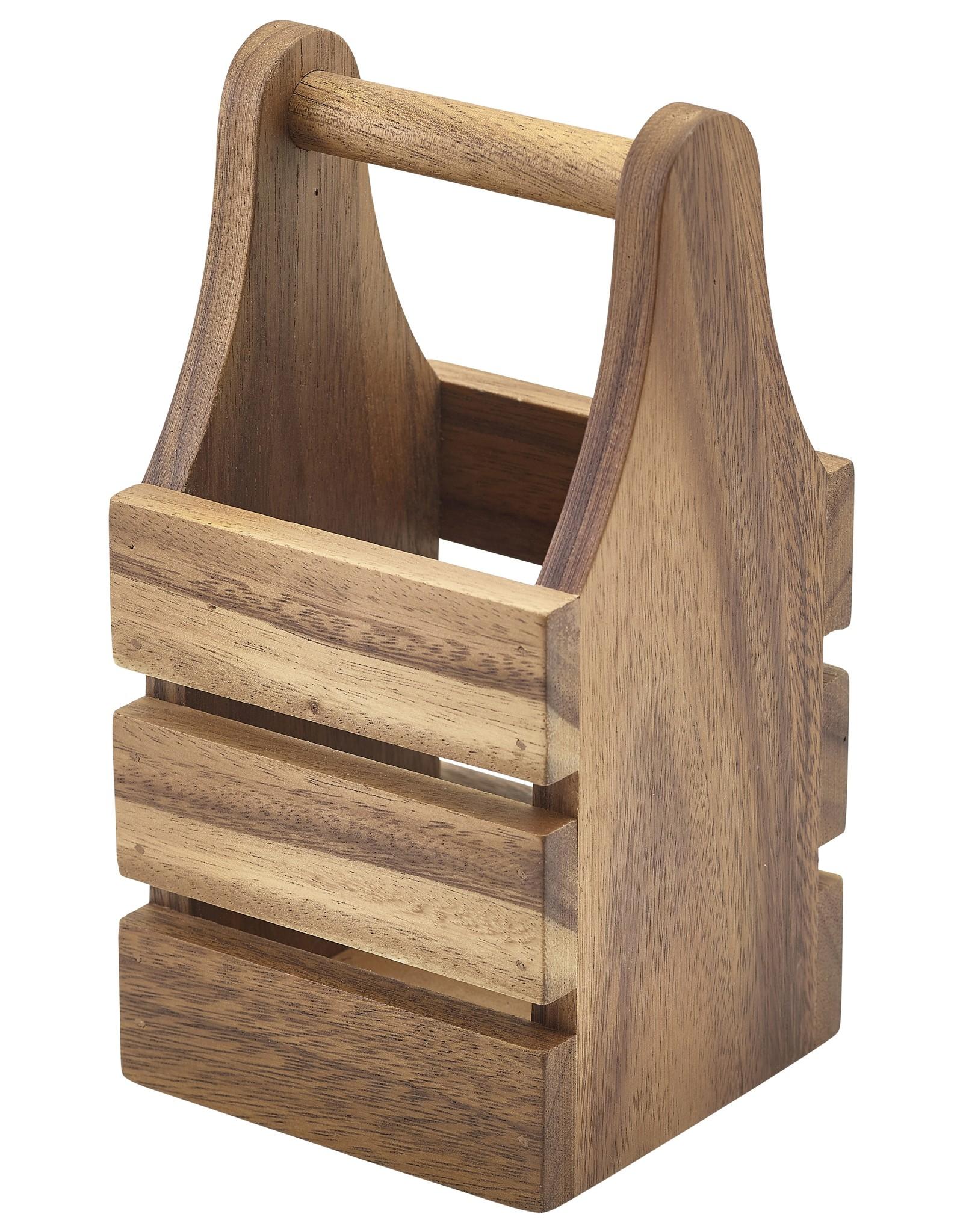Stylepoint Acacia bestek houder 10x10x20cm