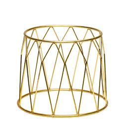 Stylepoint Buffet verhoger kroon goud 25X12X20